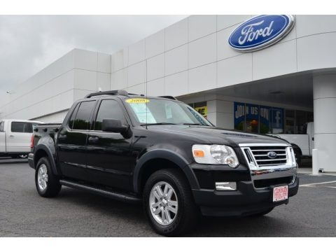 Black 2008 Ford Explorer Sport Trac XLT