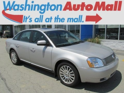 Satellite Silver Metallic 2006 Mercury Montego Premier AWD