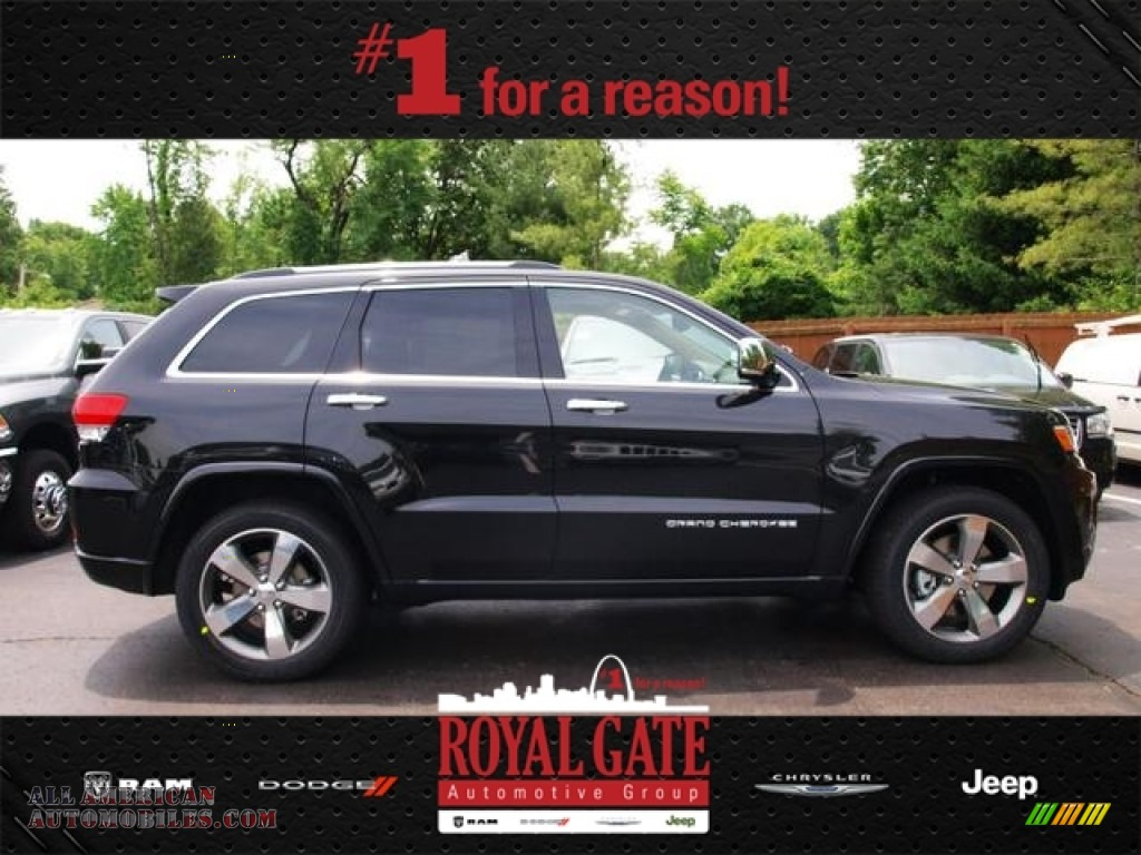 Royal Gate Dodge >> 2014 Jeep Grand Cherokee Overland 4x4 in Brilliant Black Crystal Pearl photo #5 - 187298 | All ...