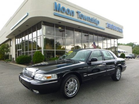 Black 2009 Mercury Grand Marquis LS