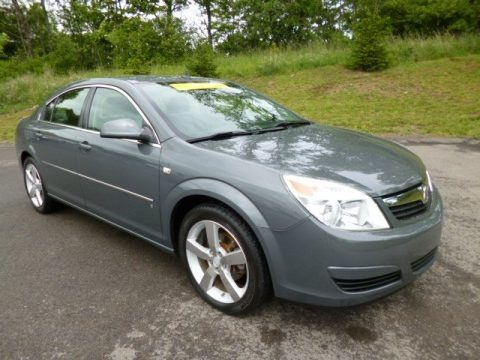 Techno Gray Metallic 2007 Saturn Aura XE