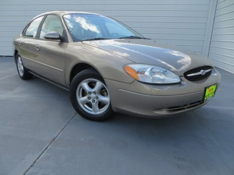 Arizona Beige Metallic 2002 Ford Taurus SES