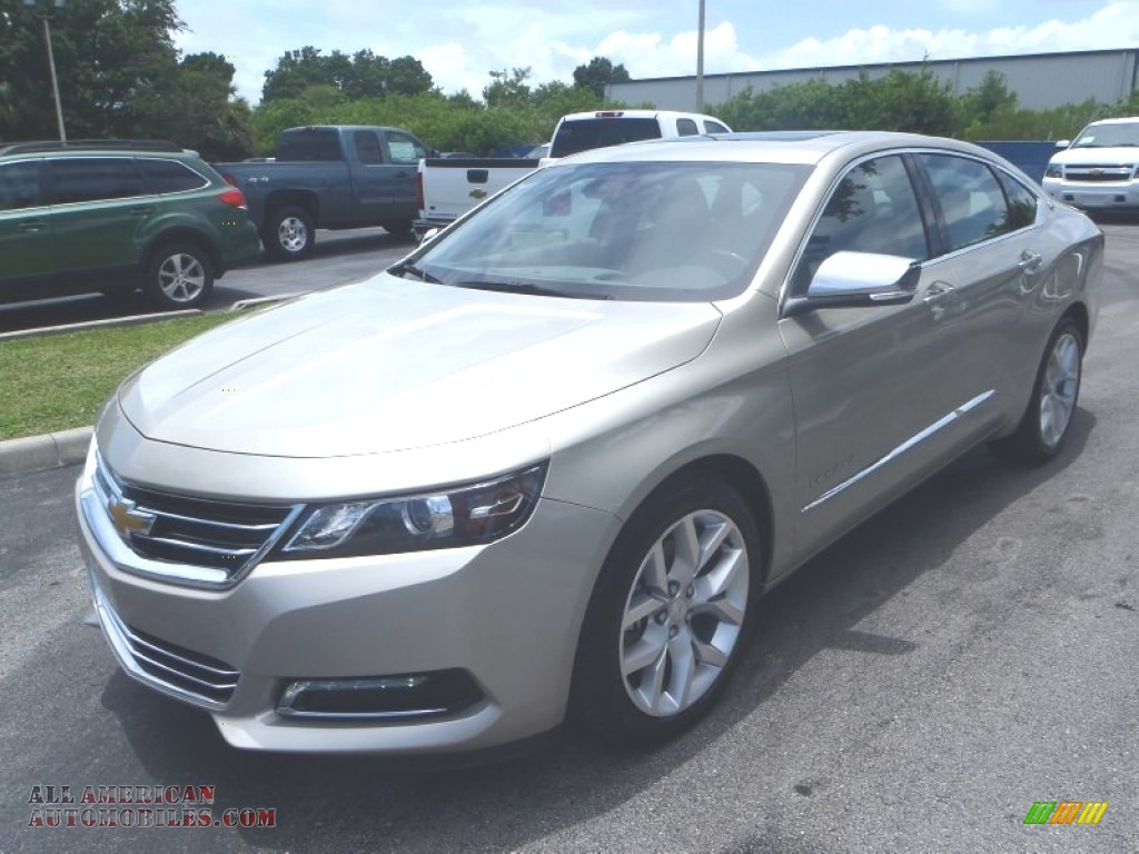 2014 chevrolet impala ltz in champagne silver metallic 104535 all american automobiles buy. Black Bedroom Furniture Sets. Home Design Ideas