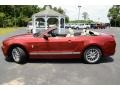 Ford Mustang V6 Premium Convertible Ruby Red photo #8