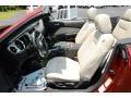 Ford Mustang V6 Premium Convertible Ruby Red photo #11