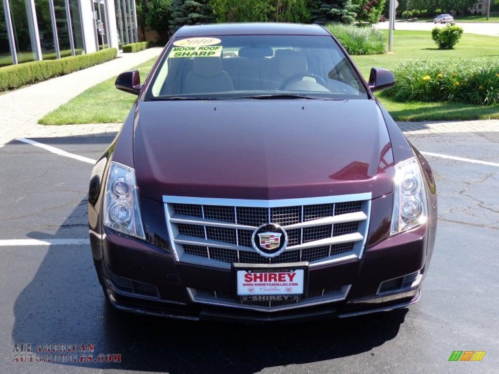 2010 Cadillac Cts 4 3 0 Awd Sedan In Black Cherry Photo 2 137402