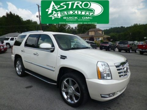 White Diamond 2007 Cadillac Escalade AWD