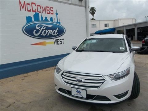 White Platinum Tri-Coat 2013 Ford Taurus Limited