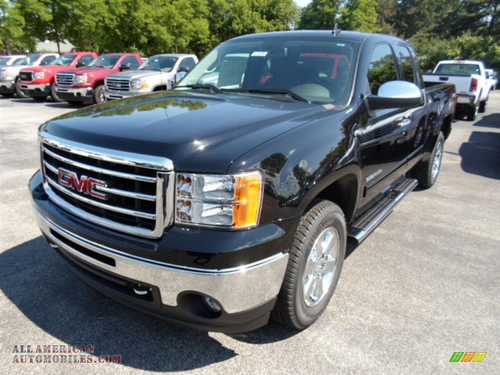 cab extended onyx slt ebony black sierra sale gmc for in car