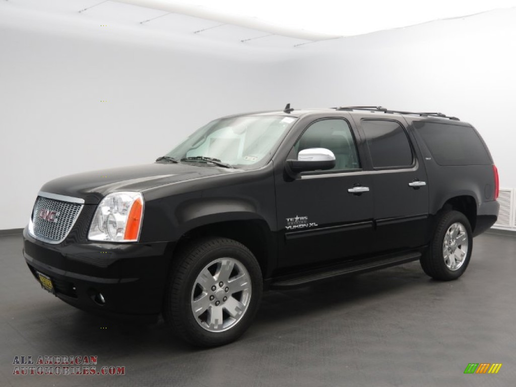 2013 gmc yukon xl slt in onyx black 357810 all american automobiles buy american cars for. Black Bedroom Furniture Sets. Home Design Ideas