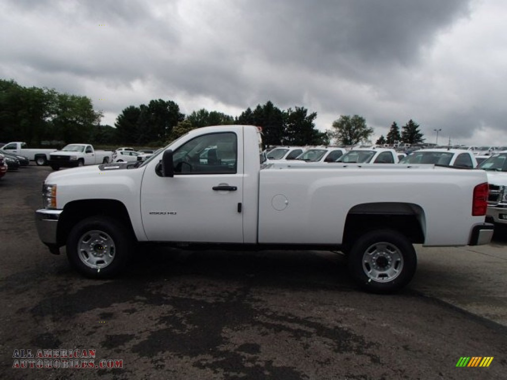 2013 chevrolet silverado 2500hd work truck regular cab in summit white 242427 all american. Black Bedroom Furniture Sets. Home Design Ideas
