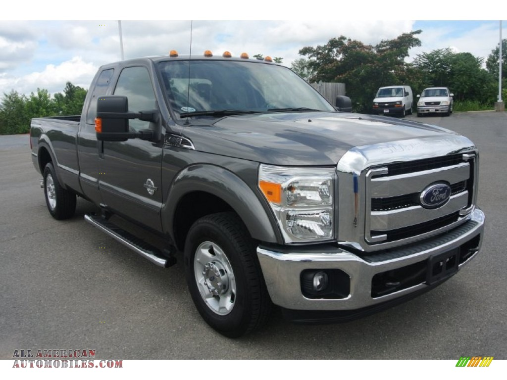 2012 ford f250 super duty xlt supercab in sterling grey metallic b36937 all american. Black Bedroom Furniture Sets. Home Design Ideas