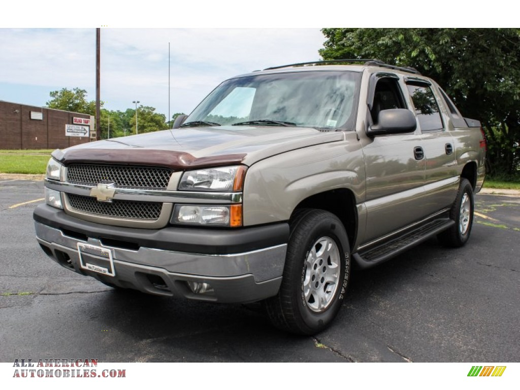 2003 chevrolet avalanche 1500 z71 4x4 in light pewter metallic 328615 all american. Black Bedroom Furniture Sets. Home Design Ideas