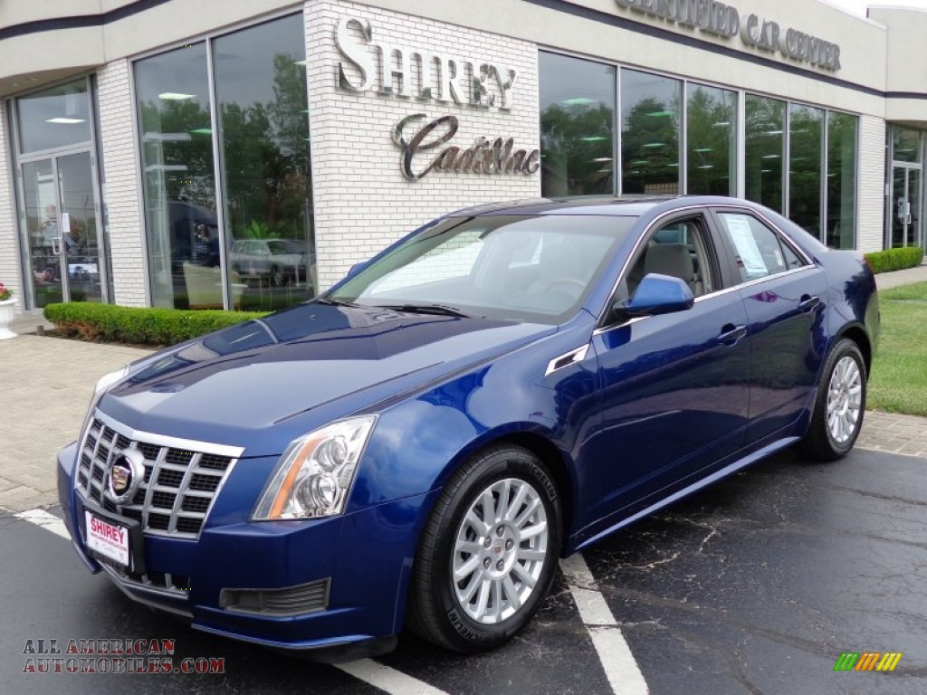 2012 Cadillac Cts 4 3 0 Awd Sedan In Opulent Blue Metallic