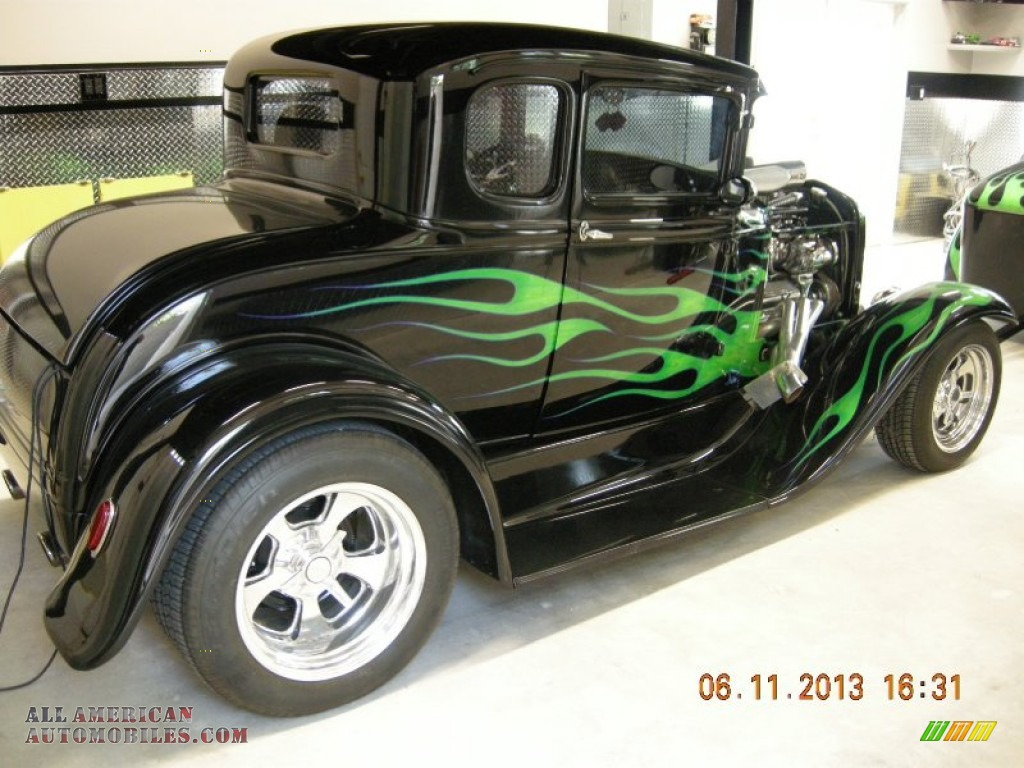 1931 Ford Model A Custom Hot Rod in Black - 193100 | All American ...