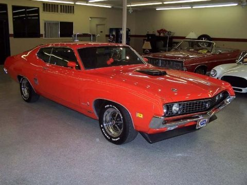 Vermilion 1970 Ford Torino Sportsroof