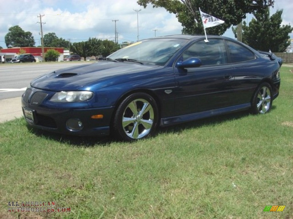 2005 pontiac gto coupe in midnight blue metallic photo 2 409748 all american automobiles. Black Bedroom Furniture Sets. Home Design Ideas