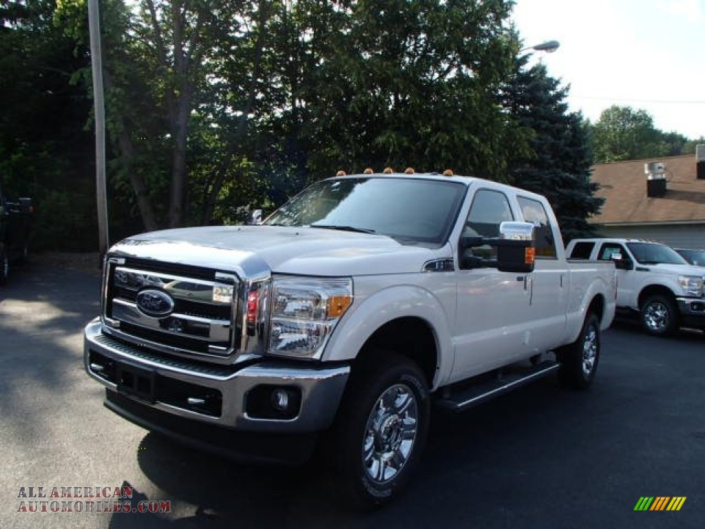 2013 ford f250 super duty lariat crew cab 4x4 in oxford white b84998 all american. Black Bedroom Furniture Sets. Home Design Ideas