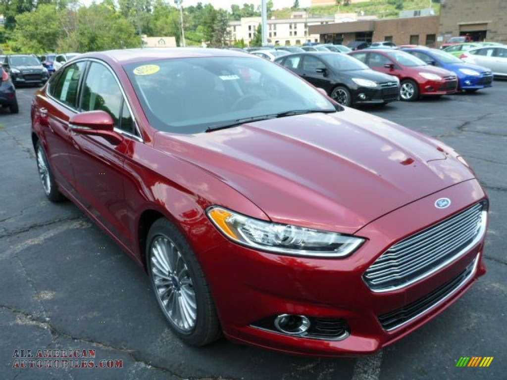 2013 ford fusion titanium awd in ruby red metallic photo 6 358048 all american automobiles. Black Bedroom Furniture Sets. Home Design Ideas