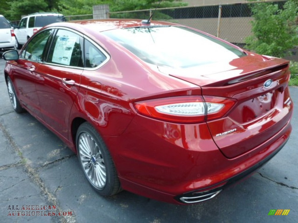 2013 ford fusion titanium awd in ruby red metallic photo 4 358048 all american automobiles. Black Bedroom Furniture Sets. Home Design Ideas