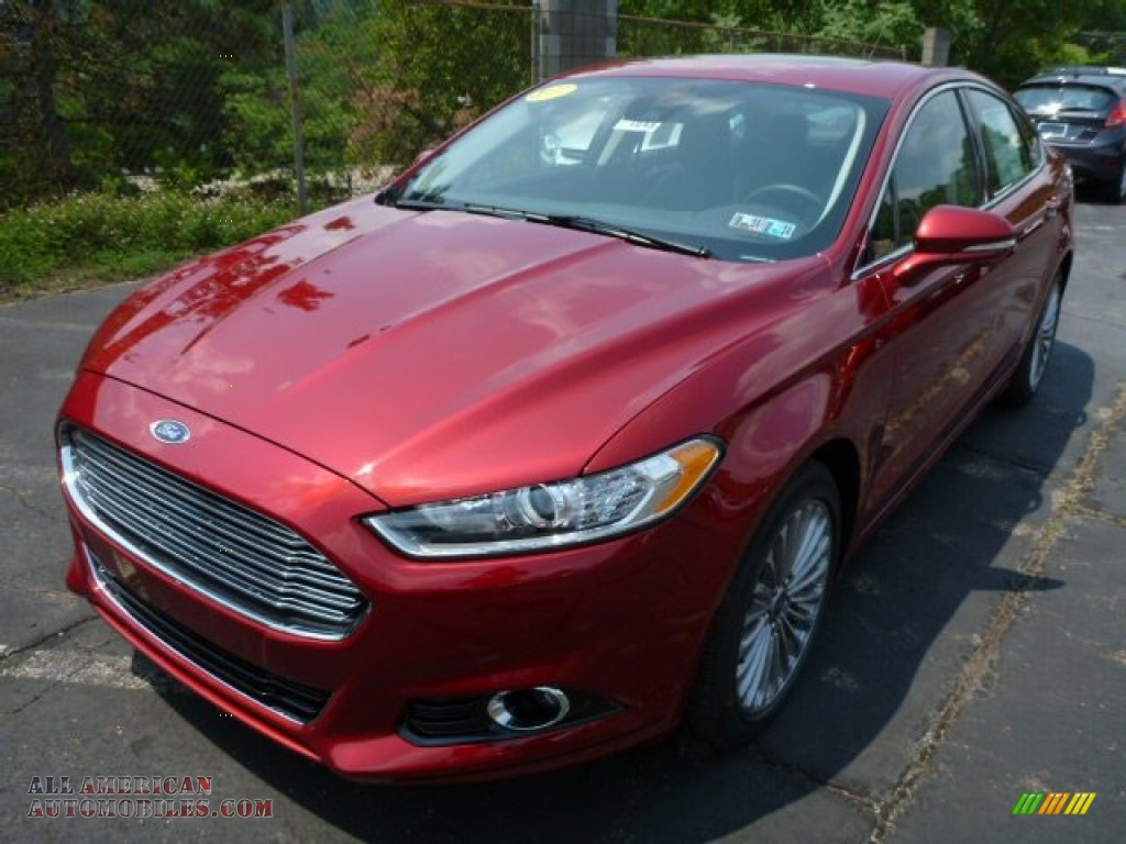 2013 ford fusion titanium awd in ruby red metallic photo 5 358048 all american automobiles. Black Bedroom Furniture Sets. Home Design Ideas