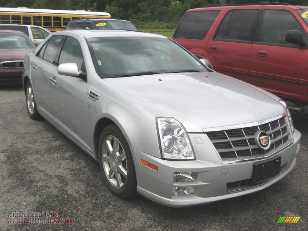 2011 cadillac sts v6 luxury in radiant silver metallic 162131 all american automobiles buy. Black Bedroom Furniture Sets. Home Design Ideas