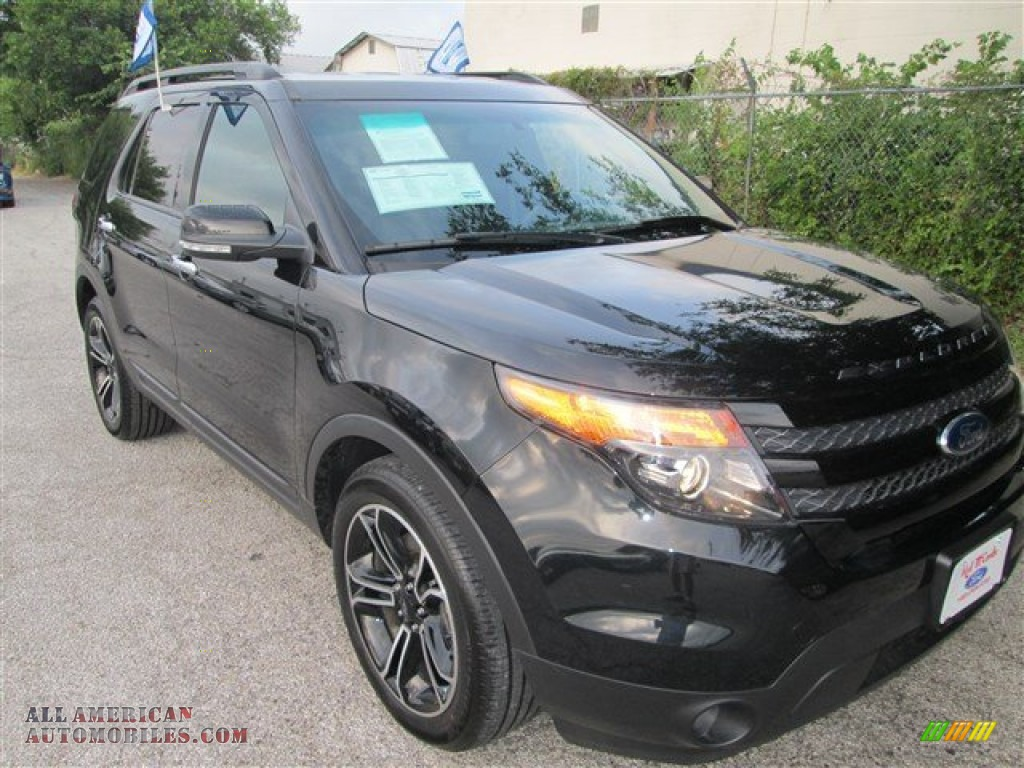 2013 ford explorer sport 4wd in tuxedo black metallic b29159 all american automobiles buy. Black Bedroom Furniture Sets. Home Design Ideas