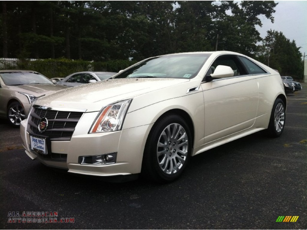 2011 cadillac cts coupe in white diamond tricoat 162165 all american automobiles buy. Black Bedroom Furniture Sets. Home Design Ideas
