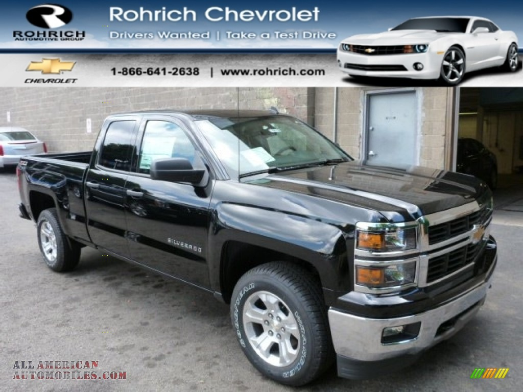 2014 chevrolet silverado 1500 ltz z71 double cab 4x4 in black photo 13 101706 all american. Black Bedroom Furniture Sets. Home Design Ideas