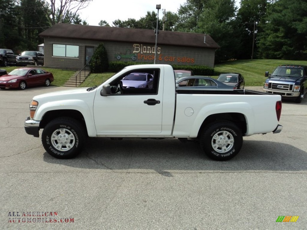 2004 Chevrolet Colorado LS Regular Cab 4x4 in Summit White ...