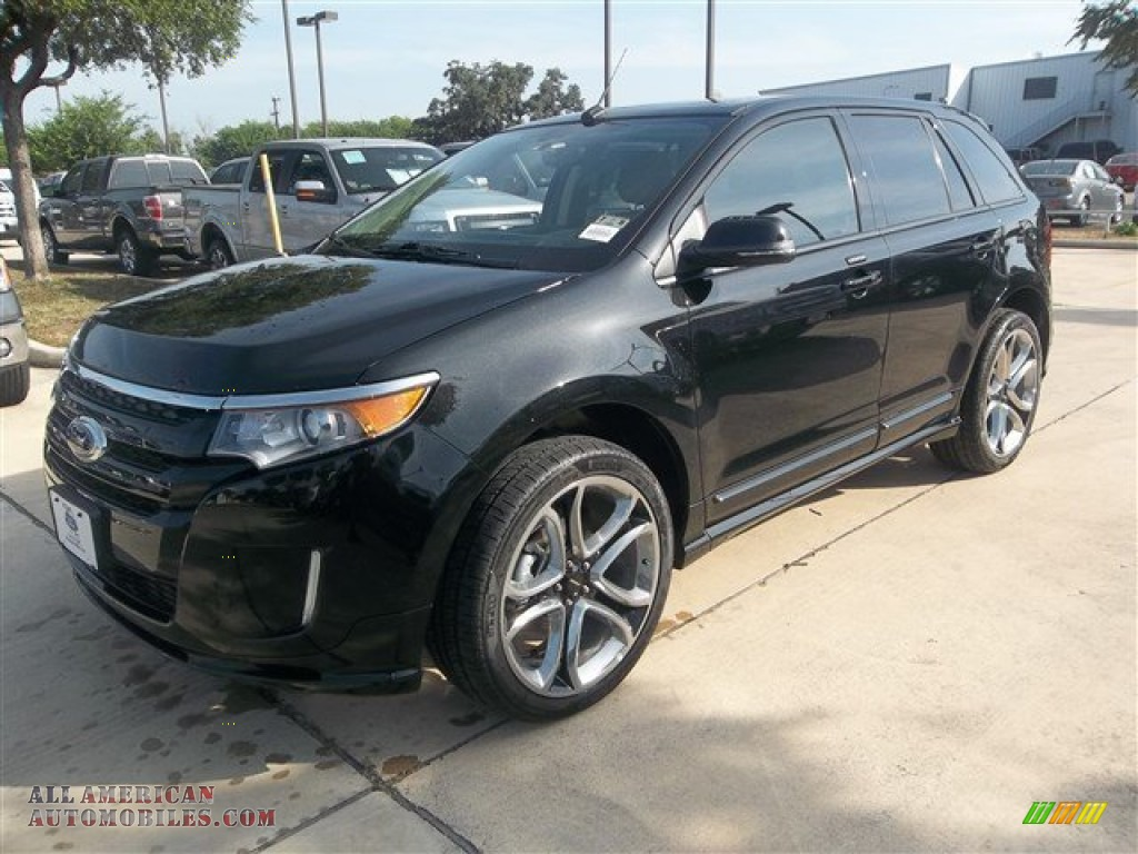 2013 ford edge sport in tuxedo black metallic c58126 all american automobiles buy american. Black Bedroom Furniture Sets. Home Design Ideas