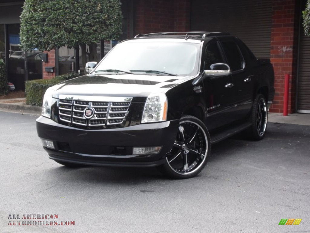 2008 cadillac escalade ext awd in black raven 201538 all american automobiles buy american. Black Bedroom Furniture Sets. Home Design Ideas