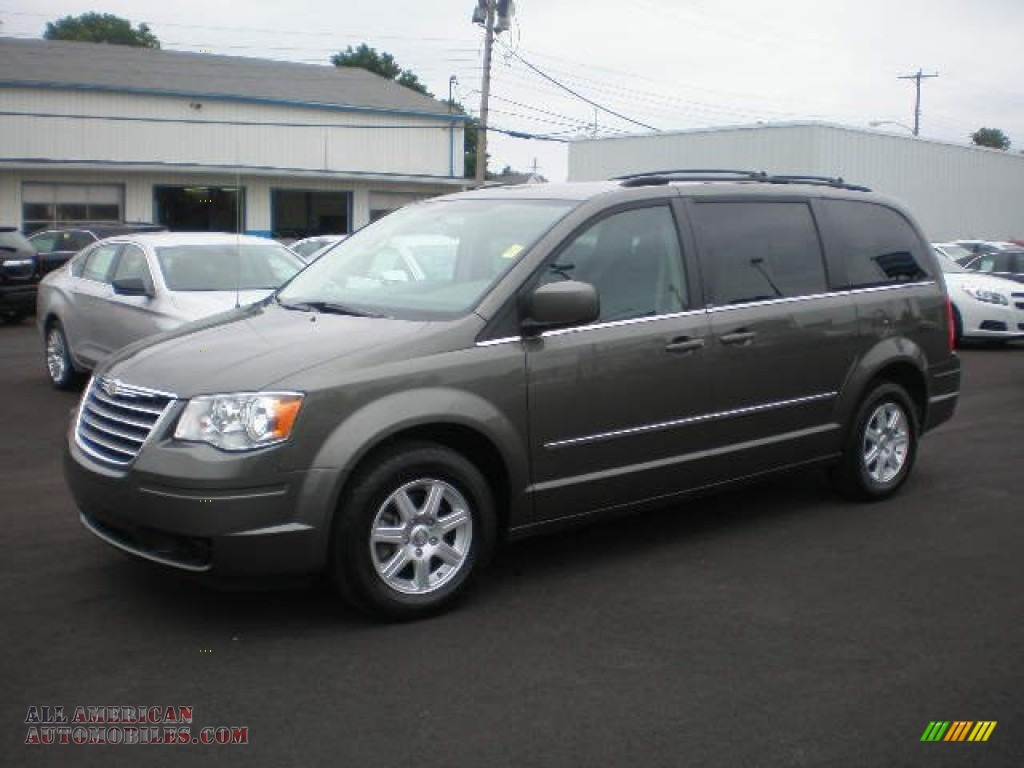 2010 chrysler town country touring in dark titanium metallic 358440 all american. Black Bedroom Furniture Sets. Home Design Ideas