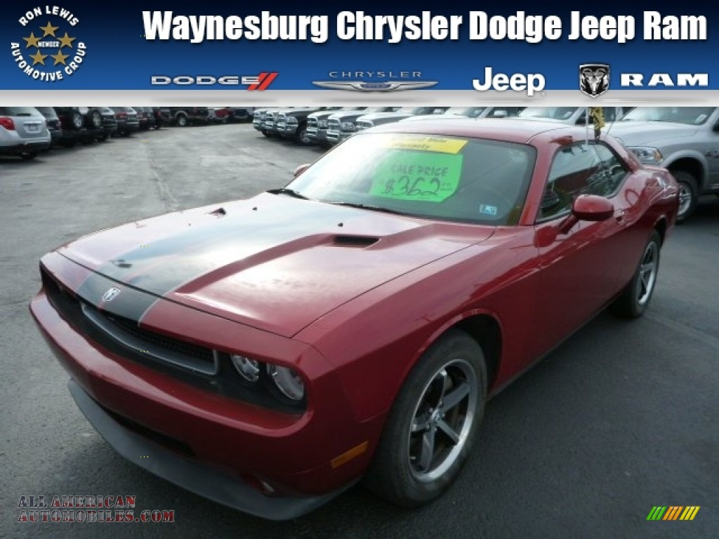 2010 Dodge Challenger SE in Inferno Red Crystal Pearl photo #2 - 139420 | All American ...