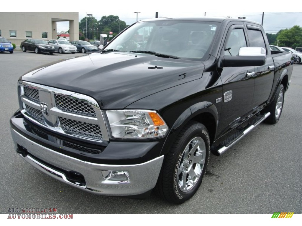2012 dodge ram 1500 laramie longhorn crew cab 4x4 in black photo 3 219216 all american. Black Bedroom Furniture Sets. Home Design Ideas
