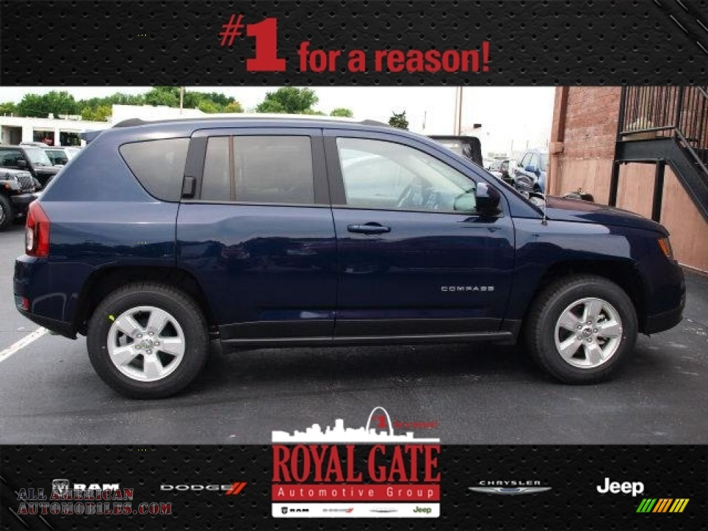 2014 jeep compass latitude in true blue pearl photo 3 for Royal chrysler motors inc