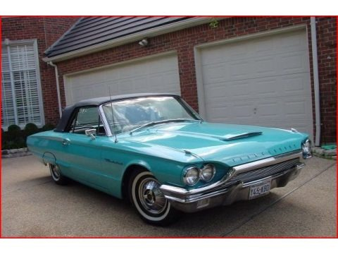 Pagoda Green 1964 Ford Thunderbird Convertible