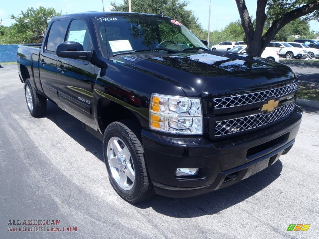 2014 chevrolet silverado 2500hd ltz crew cab 4x4 in black 118518 all american automobiles. Black Bedroom Furniture Sets. Home Design Ideas