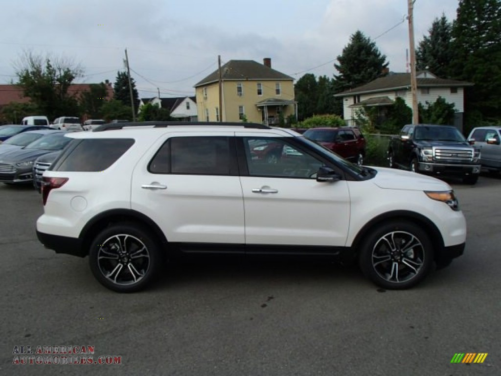 2014 ford explorer sport 4wd in white platinum photo 4 a21659 all american automobiles. Black Bedroom Furniture Sets. Home Design Ideas