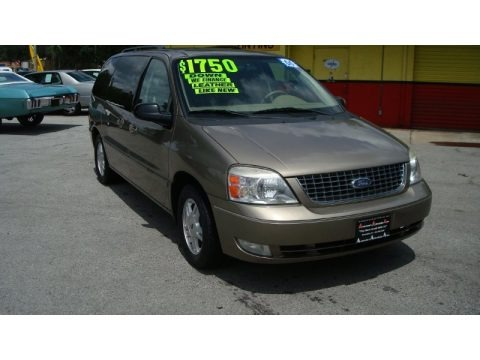 Arizona Beige Metallic 2005 Ford Freestar SEL