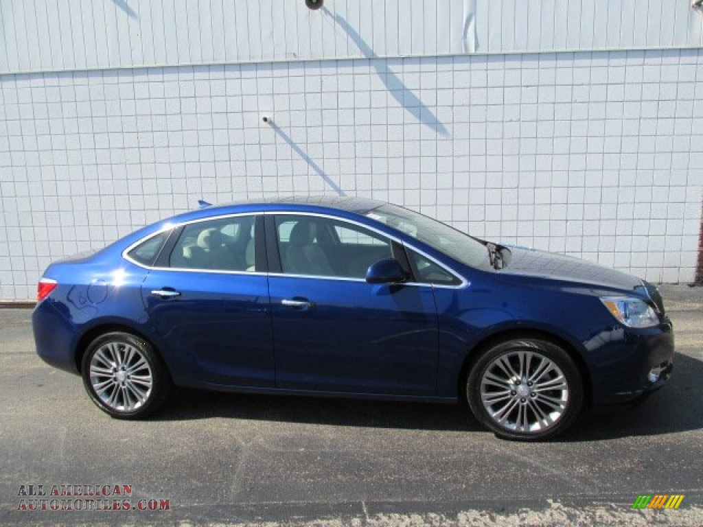 2014 Buick Verano Leather Group >> 2013 Buick Verano FWD in Luxo Blue Metallic photo #2 - 159007 | All American Automobiles - Buy ...