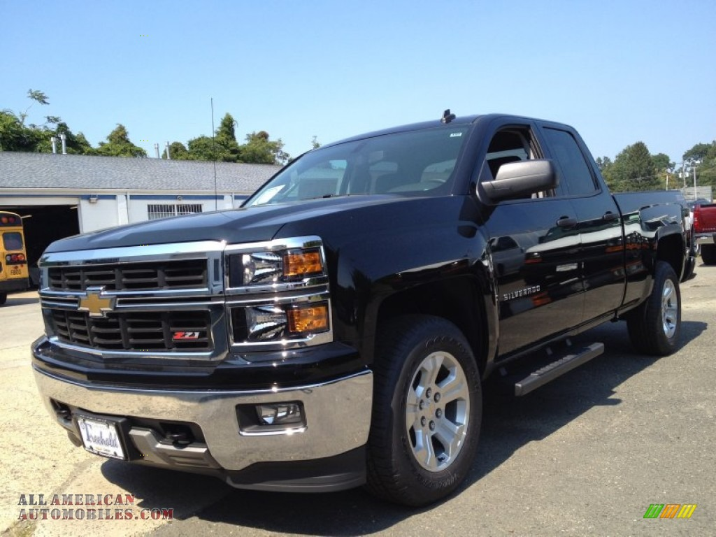 2014 chevrolet silverado 1500 ltz z71 double cab 4x4 in black 101590 all american. Black Bedroom Furniture Sets. Home Design Ideas