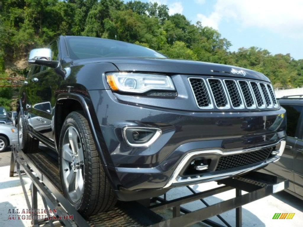 2014 Jeep Grand Cherokee Overland 4x4 in Maximum Steel ...