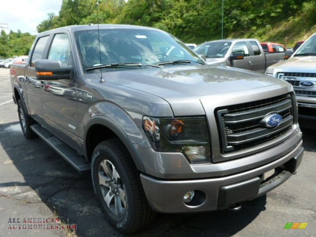 2013 ford f150 fx4 supercrew 4x4 in sterling gray metallic f51653 all ame. Cars Review. Best American Auto & Cars Review