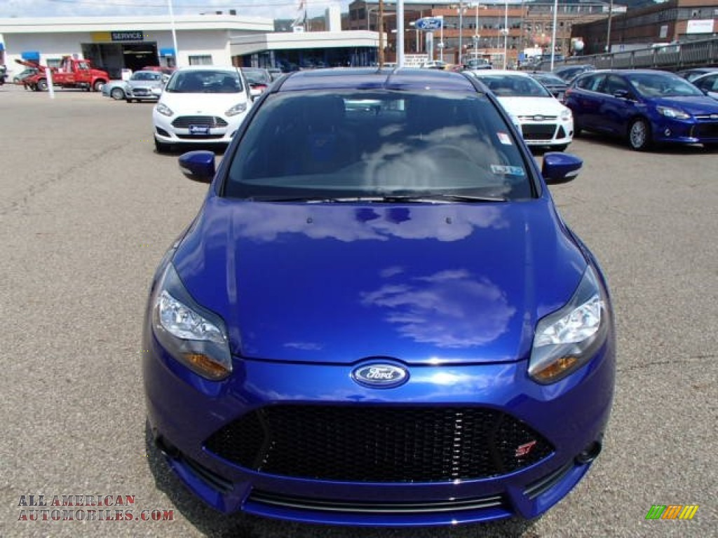 2014 Ford Focus ST Hatchback in Performance Blue photo #3 ...
