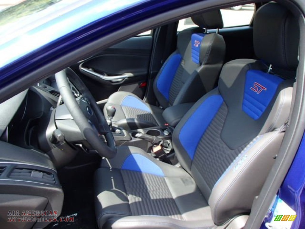 2014 ford focus st hatchback in performance blue photo 10 142813 all american automobiles. Black Bedroom Furniture Sets. Home Design Ideas