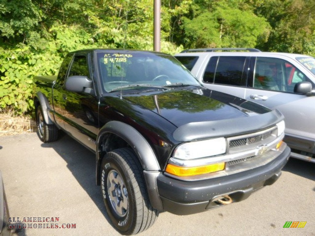 2003 chevrolet s10 zr2 extended cab 4x4 in black onyx 145722 all american automobiles buy. Black Bedroom Furniture Sets. Home Design Ideas