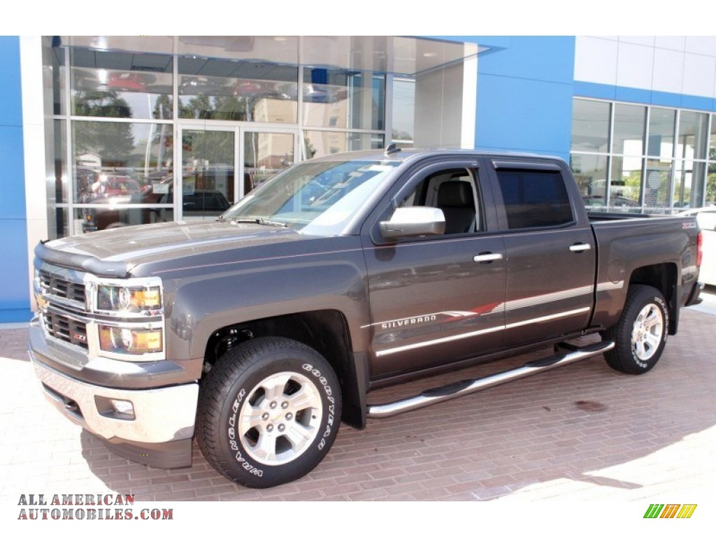 2014 chevrolet silverado 1500 ltz z71 crew cab 4x4 in tungsten metallic photo 3 162665 all. Black Bedroom Furniture Sets. Home Design Ideas