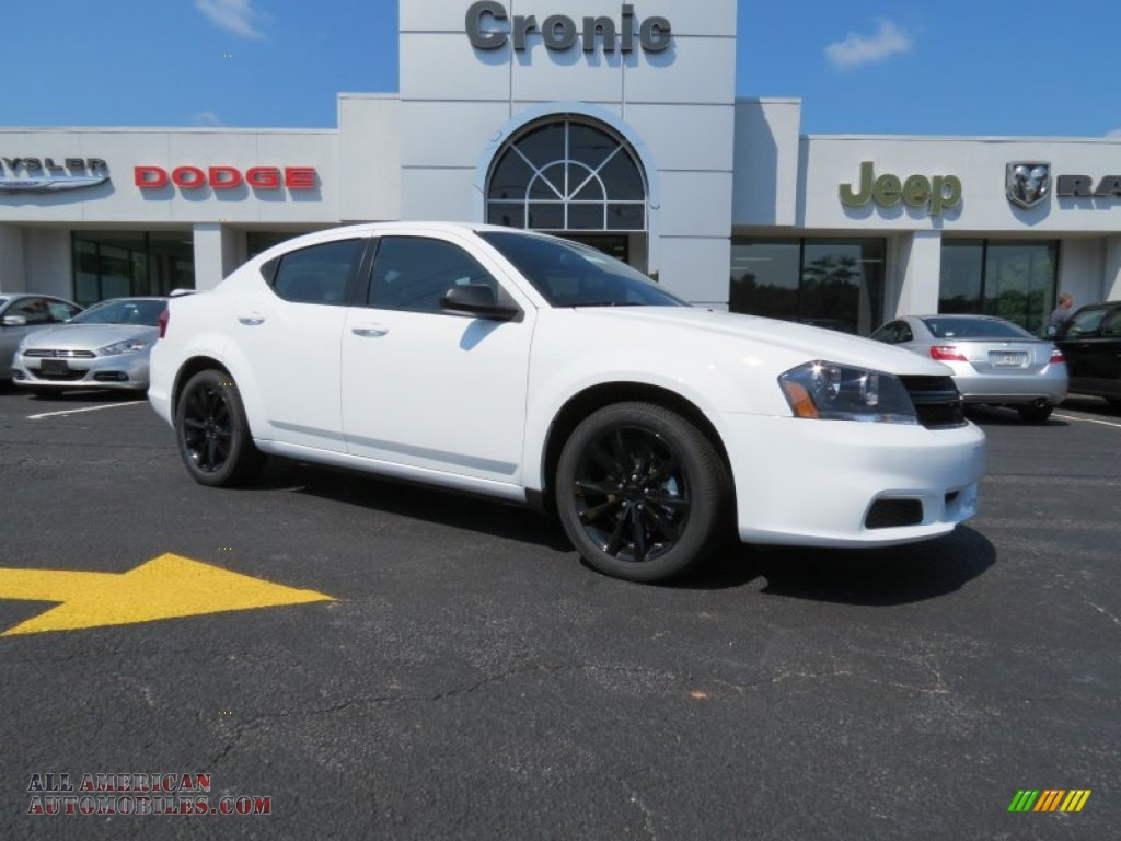 Mike Anderson Dodge >> 2014 Dodge Avenger SE in Bright White - 104137 | All American Automobiles - Buy American Cars ...