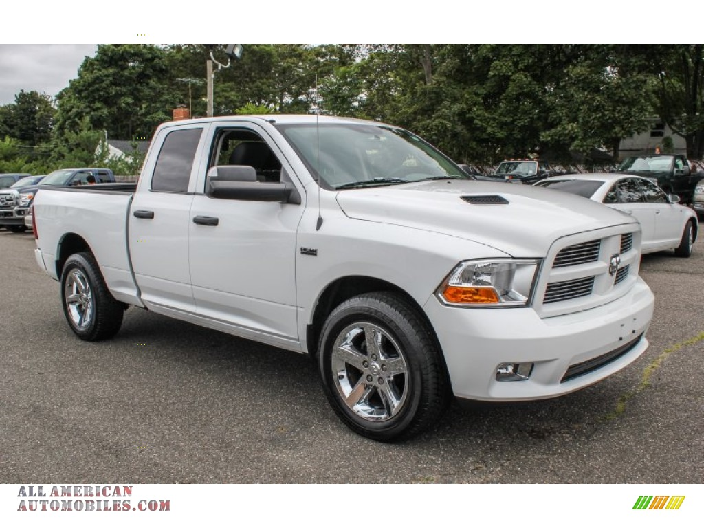 2012 dodge ram 1500 st quad cab 4x4 in bright white photo 7 184115 all american automobiles. Black Bedroom Furniture Sets. Home Design Ideas